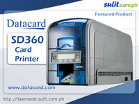 Datacard SD360 Dual Sided Thermal Printer w/ Package