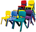 SF-83C Children Plastic Chair, Kids Party Chairs, Stackable Kindegarten Chairs