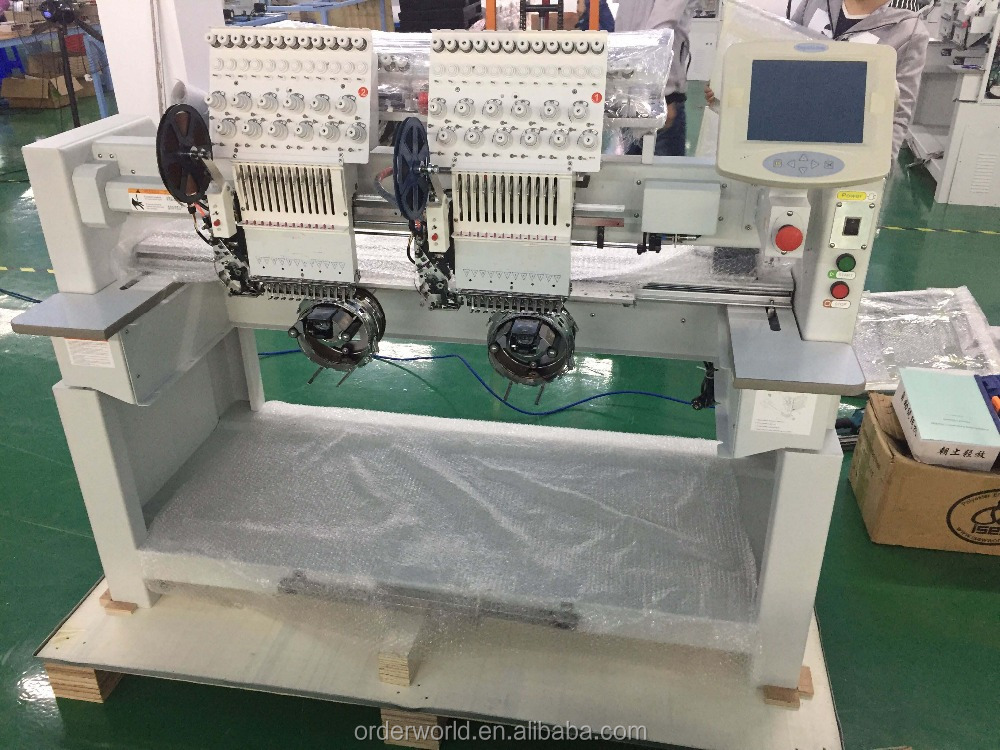 Automatic 2 head ORDER brand germany quality mini computer embroidery machine price