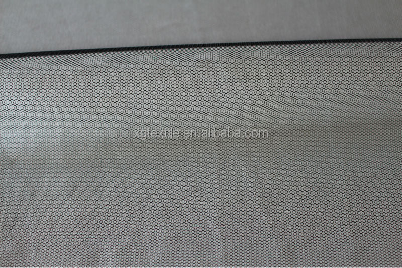 soft tulle polyester hexagonal mesh fabric netting for underwear lining(062)