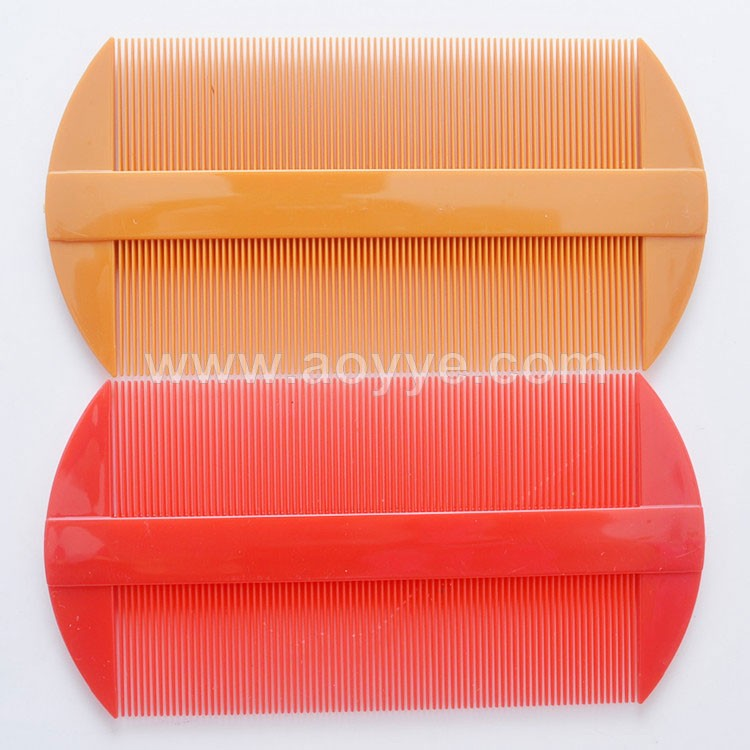 Cheap factory best sell double sided comb high quality common plastic lice combs wholesale