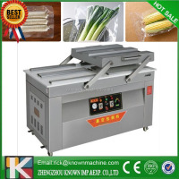 2015 hottest household double chamber vacuum packing machine for fish /meat/pork/ beef jerky /rice and grain