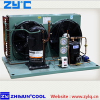 ZB High to Medium Temperature Emerson Copeland Air Cooling Scroll Compressor Condensing Unit