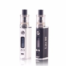 2017 hot new imports electronic product jomo 80w Vape Mods 1600mah Battery