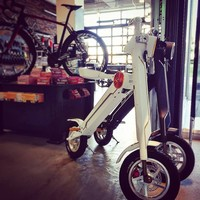 Brushless Motor and Yes Foldable Folding Electric Bike