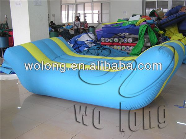 hot durable inflatable water toys, inflatable Four Men Sofa
