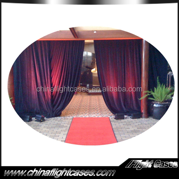 party tent aluminum backdrop stand pipe drape decoration aluminum pipe and drape used for sale