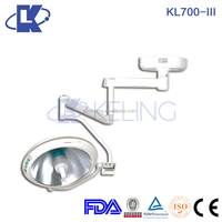 quality emergency mobile light double dome led surgical lamp operating lamp camera with monitor ce