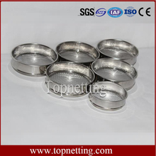 Complete specifications of the stainless steel standard test sieve