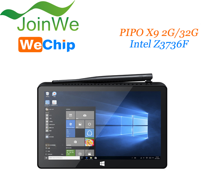 Hot sale !! WeChip Z8300 Quad Core Android 4.4 W10 32gb PIPO X9 tv box