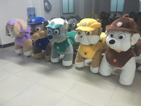 Guangzhou crazy horse coin operated kiddie ride with high quality