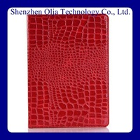 protective shookproof real leather snake skin case for ipad 2