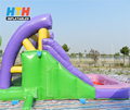 Home use small indoor inflatable slide