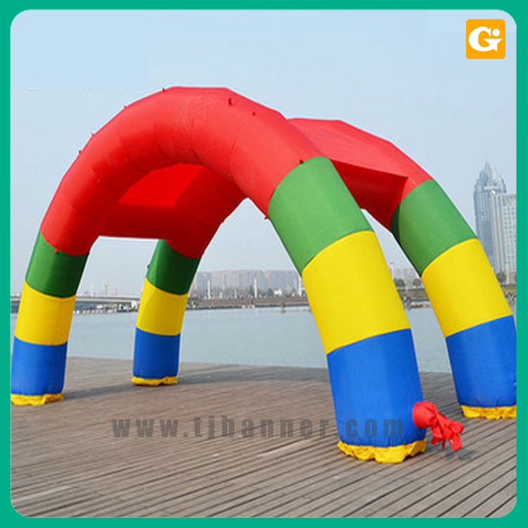 Custom size oxford fabric inflatable arch,inflatable race arch for advertising