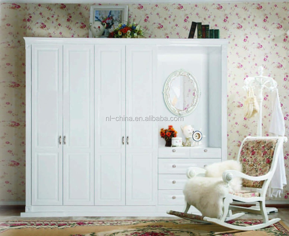 Wholesale Economical And Practical Project girls white wood bedroom furniture