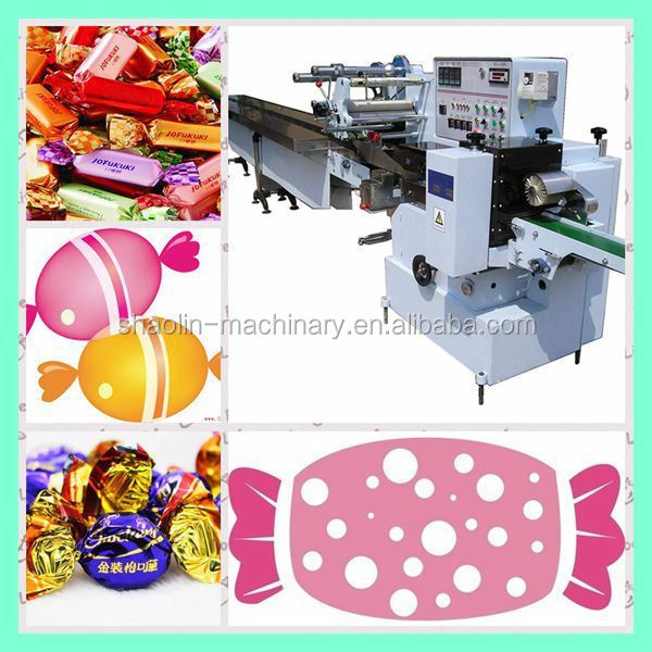 Newest sweets double twist packaging machiner, toffee wrapping machine for sale