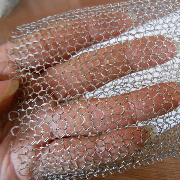 Demister used filter mesh liquid and gas filtering screen monel knitted wire mesh