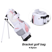 Driver Iron Putter Golf Club Sets For Kids with Pink Bag Useful Clubs
