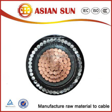 35mm2 50mm2 70mm2 95mm2 directly buried type electrical cable