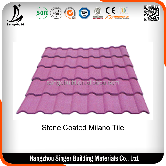 China Alibaba Cement Types Of Roof Tiles / Roofing Sheet
