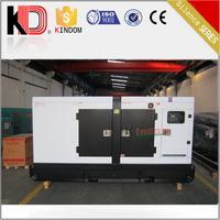 Electric AC Motor Soundproof 50kw 62.5kva Diesel Generator Powered by YUCHAI Engine