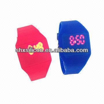 2013 new fashion cheap faceless LED watches hot selling