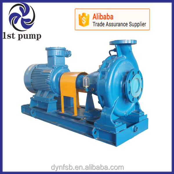 High Pressure Stainless Steel Mechanical Seal end suction centrifugal pump
