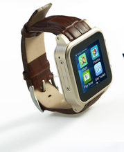 smart watch mobile phones gps watch camera 3MP android 4.4 smart watch phone MTK6572