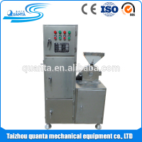 lab pulverizer with dust collector