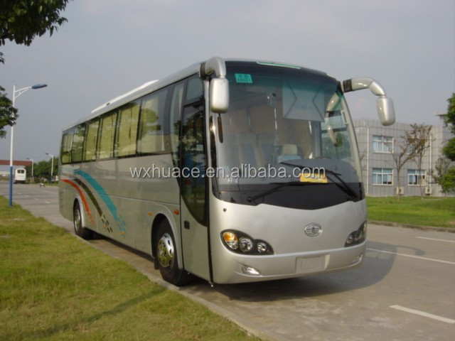Long distance 12m 51-59 seats luxury tourist coach bus for sale