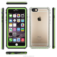 Underwater Extreme Durable Protective Case for iPhone 6 Clear Back Heavy Duty Shockproof Waterproof Case Skin for iPhone 6S