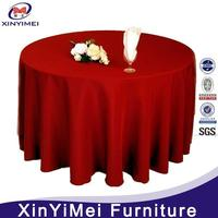 made in chinese handmade polyester table cloth for weddings