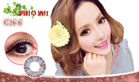 Four leaved clover contact lenses lens big eye contact lenses