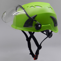 CE EN397 Approved Standard Construction Safety Helmet With Removable Visor