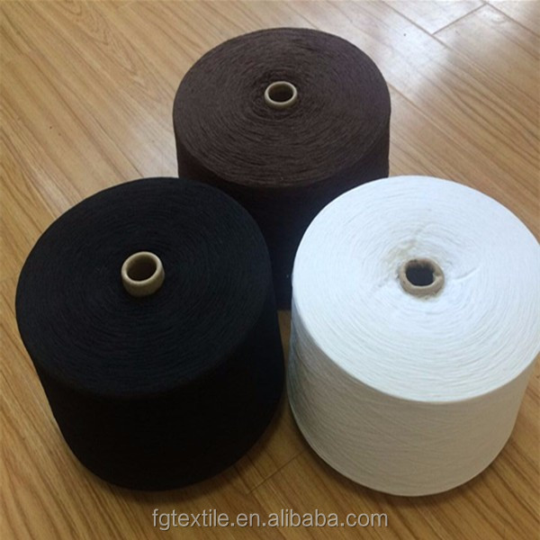 Eco friendly regenerated cotton yarn Ne 20/1 oe yarn for socks production