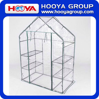 PVC PORTABLE WALK-IN GREENHOUSE WITH DOOR