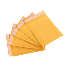 Custom made Eco-Friendly Kraft Paper Shipping bag Bubble Mailer Envelope