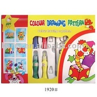 Color drawing pattern for children(ointment paint)