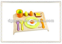 small wooden desk for kids breakfast