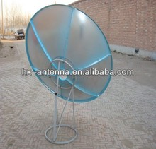 Mesh satellite dish antenna / c band 180cm dish antenna