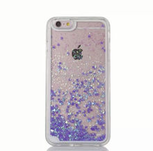 TPU quicksand case skin cover for iphone 5 6 6plus, Soft liquid cover case for iphone 6S
