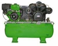 multi stage mini portable diesel air compressor with tank
