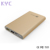 External dual usb port mobile battery pack 10000mah slim power bank