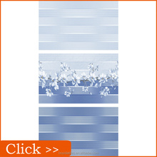 Blue Flowers Pattern Kitchen Ceramic Wall Tile from China