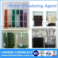 Free sample transparent textile fabric deodorizer water decoloring agent