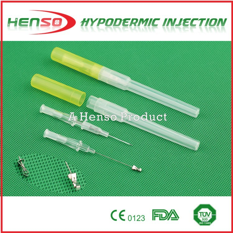 Henso Disposable Safety IV Catheter Pen Type