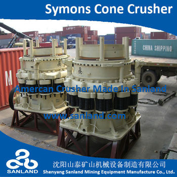 Short-head Symons Cone Crusher