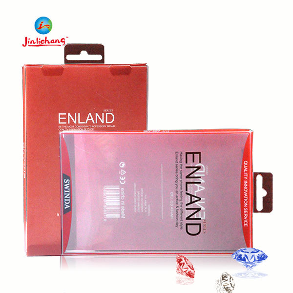 Blister card packaging for mobile phone