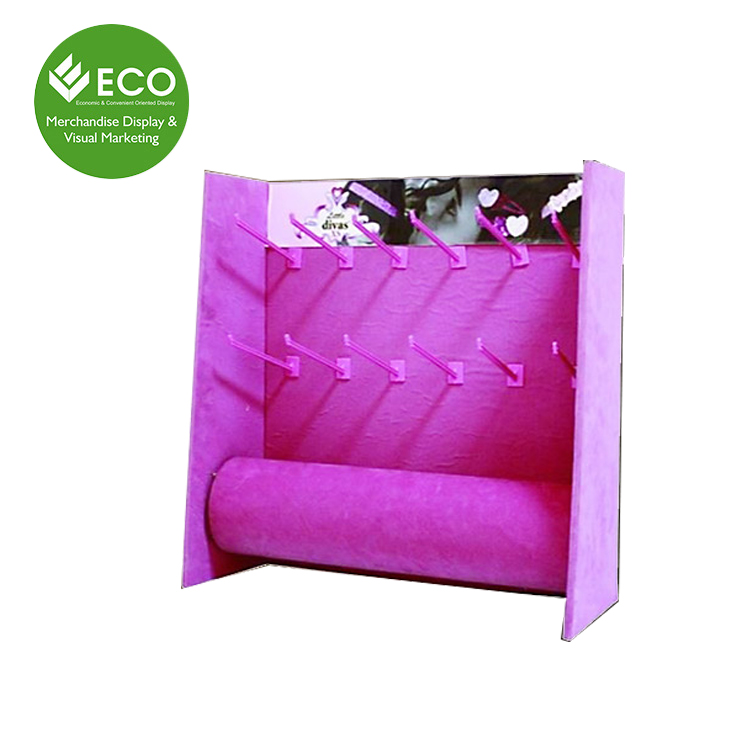 Cosmetics Shop Decoration, Counter Top Cardboard Display Cosmetics Stands