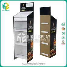 HIC alcohol stand, beer shelf pallet display stand